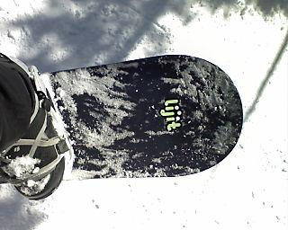 Ross' snowboard