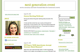 Next generation event